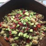 Gluten Free Goodness – Avocado and Pomegranate Tabbouleh