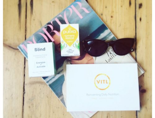 Top Three Supplements VITL Sond Skincare Pukka